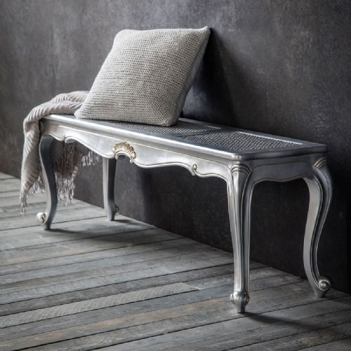 Chic Bench in Silver